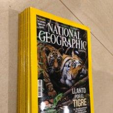 Coleccionismo de National Geographic: LOTE 7 REVISTAS NATIONAL GEOGRAPHIC - MOTIVO: FELINOS - JAGUAR LEOPARDO GUEPARDO LEÓN. Lote 287945708