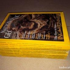 Coleccionismo de National Geographic: LOTE 13 REVISTAS NATIONAL GEOGRAPHIC - INGLÉS - AÑOS 1980'S (X9) Y 2000'S (X4). Lote 287947438