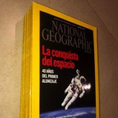 Coleccionismo de National Geographic: LOTE 9 REVISTAS NATIONAL GEOGRAPHIC - AÑO 2009. Lote 287948563
