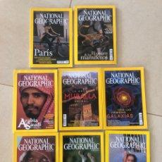 Coleccionismo de National Geographic: LOTE 8 REVISTAS NATIONAL GEOGRAPHIC - AÑO 2003. Lote 287984183