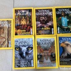 Coleccionismo de National Geographic: LOTE 7 REVISTAS NATIONAL GEOGRAPHIC - AÑO 2002. Lote 287984273