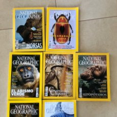 Coleccionismo de National Geographic: LOTE 7 REVISTAS NATIONAL GEOGRAPHIC - AÑO 2001. Lote 287984353