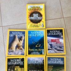 Coleccionismo de National Geographic: LOTE 7 REVISTAS NATIONAL GEOGRAPHIC - 5 DEL AÑO 2004 + NOVIEMBRE 2007 + ABRIL 2005. Lote 287984433