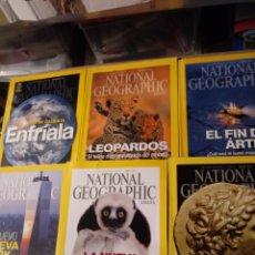 Coleccionismo de National Geographic: 6 REVISTAS DE NATIONAL GEOGRAPHIC. Lote 288229818