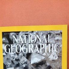 Coleccionismo de National Geographic: NATIONAL GEOGRAPHIC ESPAÑA. DIAMANTES SU VERDADERA HISTORIA. MARZO 2002. Lote 289430798