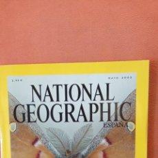 Coleccionismo de National Geographic: NATIONAL GEOGRAPHIC ESPAÑA. ALAS FANTASTICAS. LA INSOLITA BELLEZA DE LAS MARIPOSAS NOCTURNAS MAYO 02. Lote 289431273
