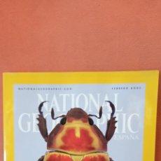 Coleccionismo de National Geographic: NATIONAL GEOGRAPHIC ESPAÑA. ESCARABAJOS JOYA. FEBRERO 2001.. Lote 289431438