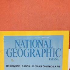 Coleccionismo de National Geographic: NATIONAL GEOGRAPHIC ESPAÑA. NUESTRO PRIMER VIAJE. ENERO 2014.. Lote 289431568