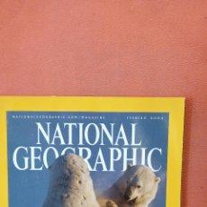 Coleccionismo de National Geographic: NATIONAL GEOGRAPHIC. GIGANTES BLANCOS DEL HIELO. FEBRERO 2004.. Lote 289431893