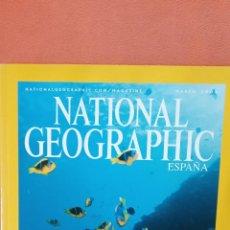 Coleccionismo de National Geographic: NATIONAL GEOGRAPHIC. MARES DEL SUR. EL REFUGIO CORALINO DE LAS ISLAS PHOENIX. MARZO 2004. Lote 289432008