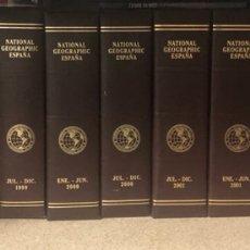 Coleccionismo de National Geographic: COLECCIÓN NATIONAL GEOGRAPHIC, 135 REVISTAS Y SUS CORRESPONDIENTES ARCHIVADORES. Lote 289544623