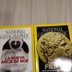 Coleccionismo de National Geographic: 2 REVISTAS NATIONAL GEOGRAPHIC ABRIL Y MAYO 2016. Lote 292204298