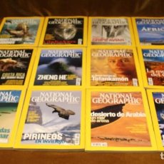 Coleccionismo de National Geographic: REVISTA NATIONAL GEOGRAPHIC,AÑO 2005,COMPLETO. EN ESPAÑOL.. Lote 292543853