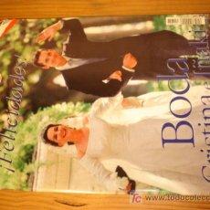 Coleccionismo de Revista Pronto: REVISTA PRONTO Nº 1327 AÑO 1997 EN PORTADA BODA DE CRISTINA E IÑAKI. Lote 4382536
