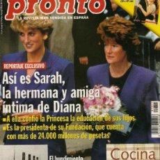 Coleccionismo de Revista Pronto: PRONTO Nº 1351 HUNDIMIENTO DEL TITANIC FOTOS AUTÉNTICAS. Lote 26965939