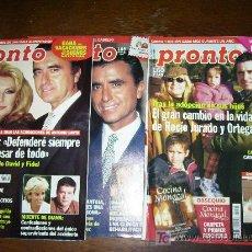 Coleccionismo de Revista Pronto - PRONTO 3 EJEMPLARES LA FAMILIA ROCIO JURADO AÑO 2000 Nº1448,1456,1490 - 19665397