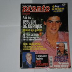 Coleccionismo de Revista Pronto: REVISTA PRONTO NUMERO 1174 , 5 DE NOVIEMBRE 1994 . INCOMPLETA .. Lote 21484310
