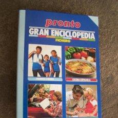 Coleccionismo de Revista Pronto: PRONTO, FICHERO . SOLO TAPAS DE ANILLAS. Lote 25835249