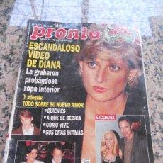 Coleccionismo de Revista Pronto: REVISTA PRONTO, EN PORTADA LADY DI.. Lote 28233271