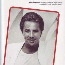Coleccionismo de Revista Pronto: REVISTA PRONTO Nº 805 - 10-10-1987-LA MUERTE DON JOHNSON - FARY Y CONCHI-MIGUEL BOSE-LITRI-PAQUIRRI-. Lote 30164571