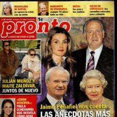 Coleccionismo de Revista Pronto: REVISTA PRONTO Nº 1981 - 24-4-2010 - 100 PÁGINAS -. Lote 30304205