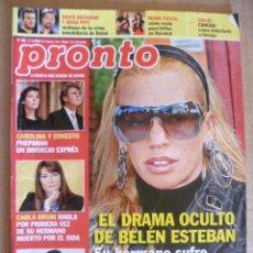 Coleccionismo de Revista Pronto: REVISTA; PRONTO - Nº 1.962 - 12.12. 2009. Lote 32574894