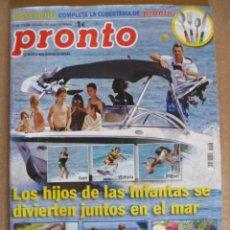 Coleccionismo de Revista Pronto: REVISTA; PRONTO - Nº 1.946 - 22.08. 2009. Lote 32574896