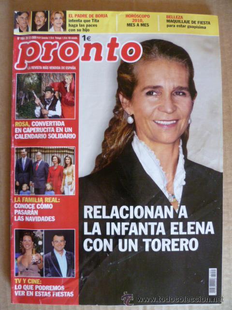 REVISTA; PRONTO - Nº 1.964 - 26.12. 2009 (Papel - Revistas y Periódicos Modernos (a partir de 1.940) - Revista Pronto)