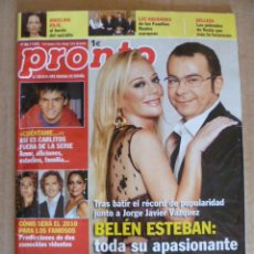 Coleccionismo de Revista Pronto: REVISTA; PRONTO - Nº 1.965 - 02.01. 2010. Lote 32583021