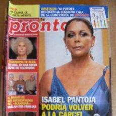 Coleccionismo de Revista Pronto: REVISTA; PRONTO - Nº 1.959 - 21.11. 2009. Lote 32583340