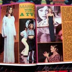 Coleccionismo de Revista Pronto: REVISTA PRONTO 1974 / MARISOL, BLANCA ESTRADA, JUAN PARDO, SOPHIA LOREN, LA POCHA. Lote 34909624