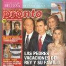 Coleccionismo de Revista Pronto: REVISTA PRONTO Nº 2.102 - 18/08/2012. Lote 35011255