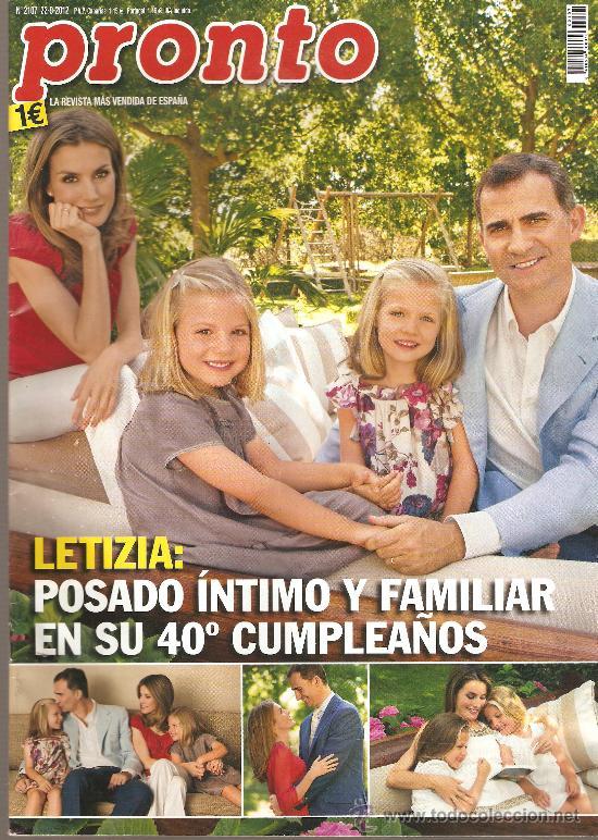 REVISTA PRONTO Nº 2.107 - 22/O9/2012 (Papel - Revistas y Periódicos Modernos (a partir de 1.940) - Revista Pronto)