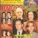 Coleccionismo de Revista Pronto: REVISTA PRONTO Nº 2.067 - 17/12/11. Lote 35011350