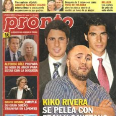 Coleccionismo de Revista Pronto: REVISTA PRONTO Nº 2109 - 06-10-12. Lote 35011440