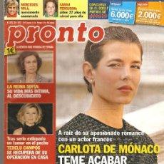 Coleccionismo de Revista Pronto: REVISTA PRONTO Nº 2073 - 28-01-12. Lote 35011468