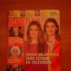 Coleccionismo de Revista Pronto: REVISTA PRONTO Nº 1982-1-5- 2010-. Lote 36339066