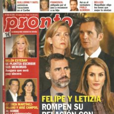 Coleccionismo de Revista Pronto: REVISTA PRONTO Nº 2.128 - 16/02/2013. Lote 36866496