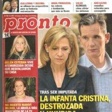 Coleccionismo de Revista Pronto: REVISTA PRONTO Nº 2.136 - 13/04/2013. Lote 36866512