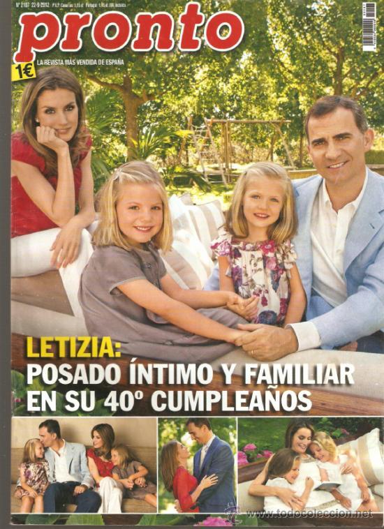 REVISTA PRONTO Nº 2.107 - 22-9-13 (Papel - Revistas y Periódicos Modernos (a partir de 1.940) - Revista Pronto)