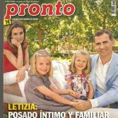 Coleccionismo de Revista Pronto: REVISTA PRONTO Nº 2.107 - 22-9-13. Lote 36884987