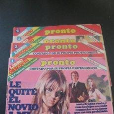 Coleccionismo de Revista Pronto: REVISTA PRONTO. LIBRO OBSEQUIO.. Lote 37345635