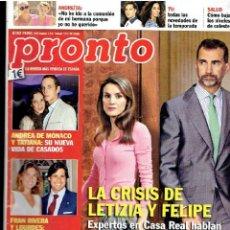 Coleccionismo de Revista Pronto: REVISTA PRONTO 7 - 9 -13 Nº 2.157 . Lote 40089348