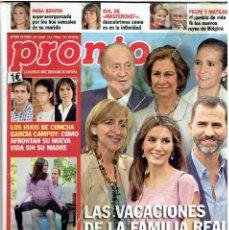 Coleccionismo de Revista Pronto: REVISTA PRONTO 27- 07 - 13 N º 2.151 . Lote 40089577