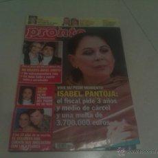 Coleccionismo de Revista Pronto: REVISTA PRONTO PORTADA ISABEL PANTOJA . Lote 40831186