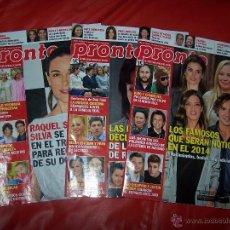 Coleccionismo de Revista Pronto: LOTE 3 REVISTAS *PRONTO*. Lote 40847890