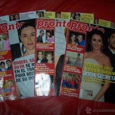Coleccionismo de Revista Pronto: LOTE TRES REVISTAS *PRONTO*. Lote 40848066