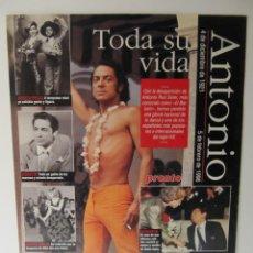 Coleccionismo de Revista Pronto: EL BAILARIN. COLECCIONABLE REVISTA PRONTO. Lote 41553735