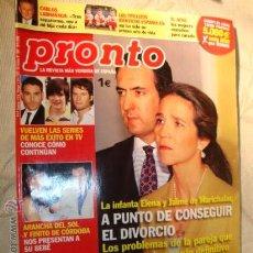 Coleccionismo de Revista Pronto: REVISTA PRONTO. Lote 25412494