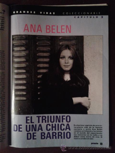 Revista Pronto 1987 Ana Belen Pastora Vega Desn Vendido En Venta